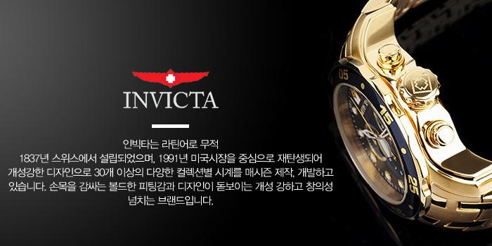 인빅타 24810 여성용 야광인덱스 시계